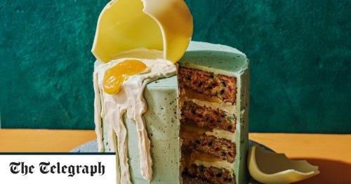 Easter egg funfetti cake recipe