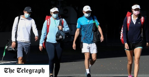 Two more Australian Open tennis players test positive for coronavirus