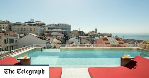 The best hotels in Lisbon with a pool, from garden dips to rooftop swims
