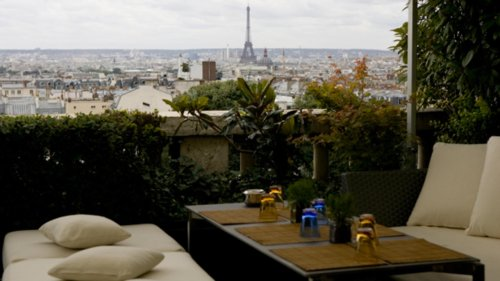 Le 7th - Terrass Hotel à Montmartre