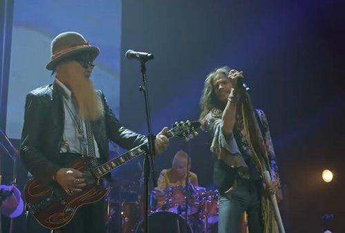 Steven Tyler e ZZ Top tocam clássico do Fleetwood Mac em vídeo; assista
