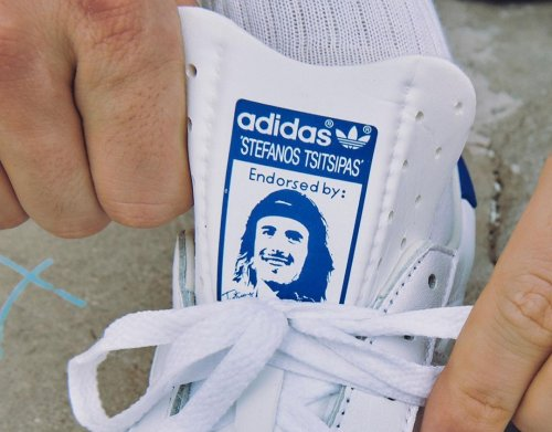 Stefanos Tsitsipas unveils new shoe collaboration with Adidas at Indian Wells | Tennis.com
