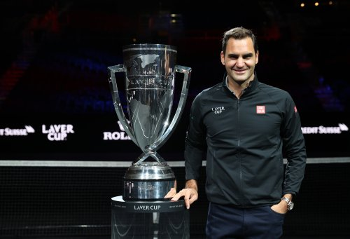 """""""Legacy is really important"""": Federer makes surprise Laver Cup appearance 