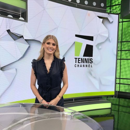 """""""I was so nervous"""": Eugenie Bouchard joins Tennis Channel as a studio analyst   Tennis.com"""