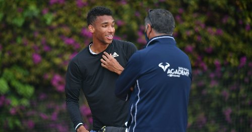 Nobody better than Toni Nadal, says Felix Auger-Aliassime