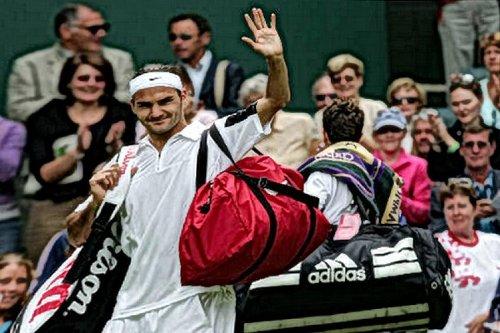 Wimbledon-Siege von Roger Federer: Sieg Nummer 12 gegen Alex Bogdanovic