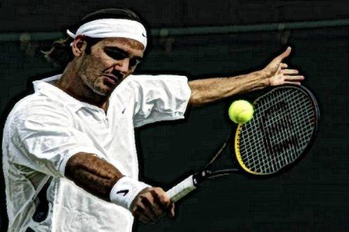 Wimbledon-Siege von Roger Federer: Sieg Nummer 8 gegen Feliciano Lopez