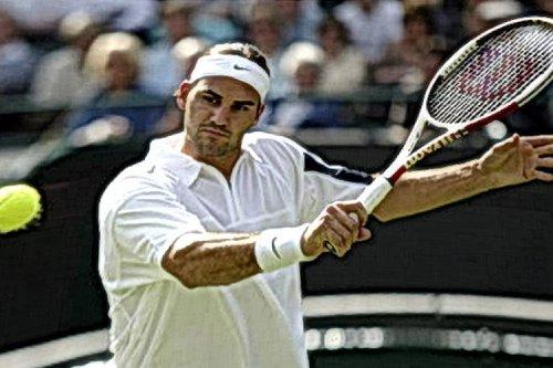 Wimbledon-Siege von Roger Federer: Sieg Nummer 13 gegen Alejandro Falla