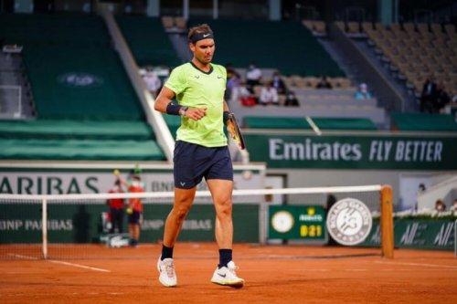 """Rafael Nadal après son 40e set blanc: """"C'était mon meilleur set de 2021"""""""