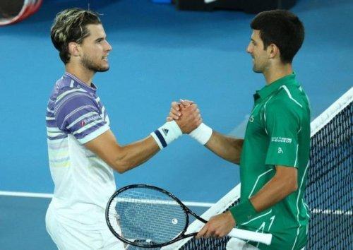 """Dominic Thiem :""""Je ne connais pas bien Novak Djokovic mais il a un grand cœur"""""""