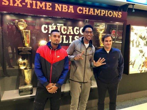 Nick Kyrgios se rappelle de sa rencontre avec la star de la NBA Scottie Pippen.
