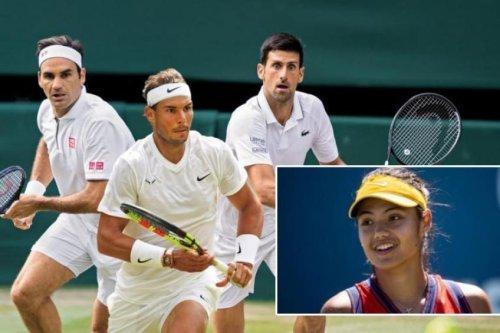 Raducanu doit copier Federer, Nadal et Djokovic, selon l'ancien top 10