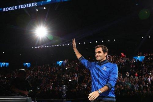 Roger Federer soutient Daniil Medvedev et Alexander Zverev à la Laver Cup.