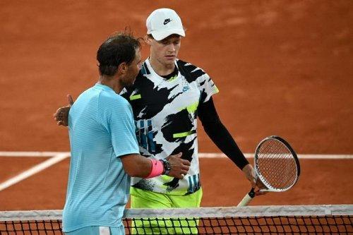 """Jannik Sinner : """"Rafael Nadal jouait et je ne faisais que courir à certains moments"""""""