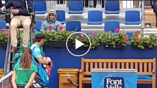 Atp Barcellona - Fognini sfoga la rabbia dopo la squalifica