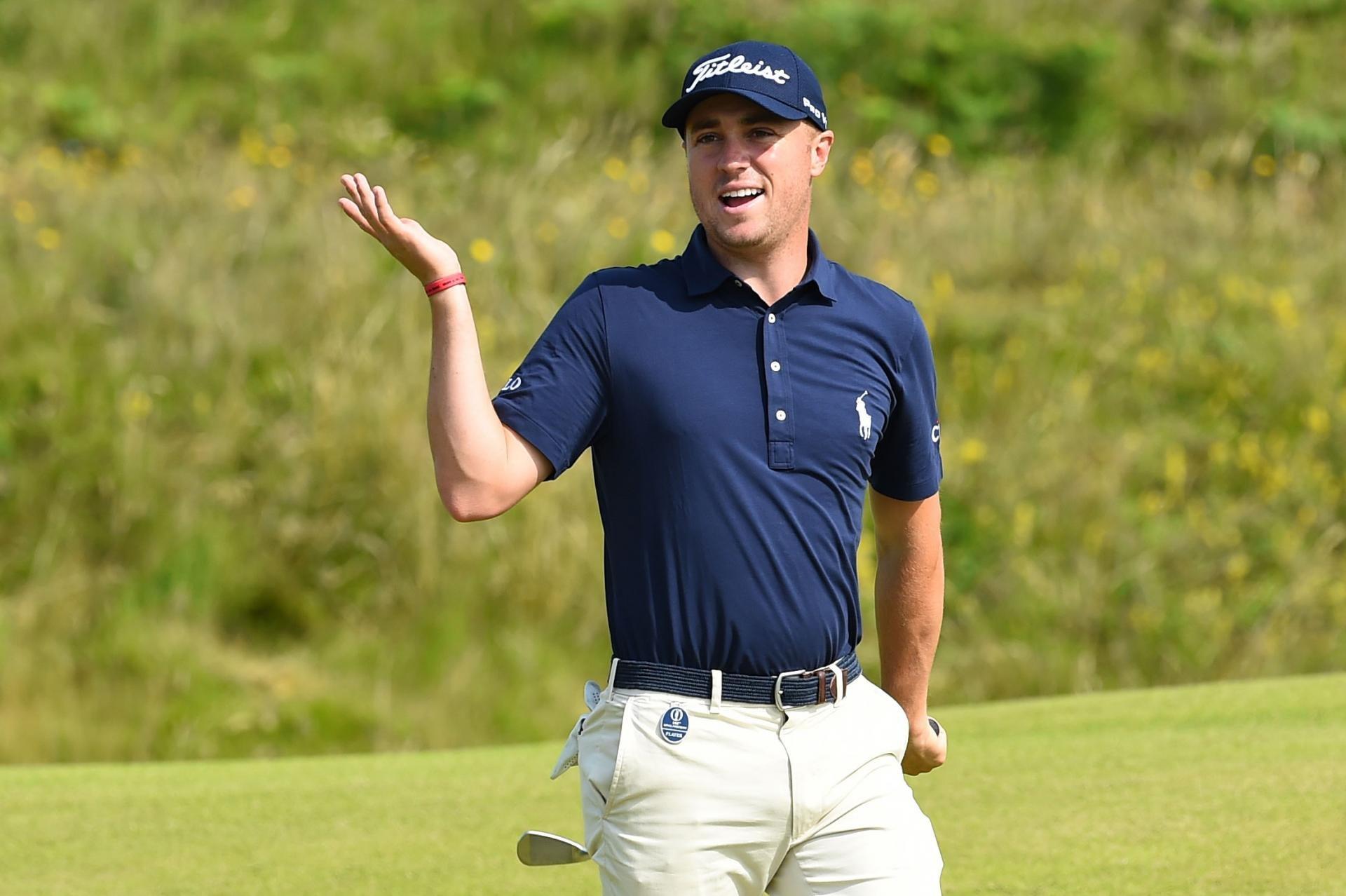 Justin Thomas breaks golf's unspoken rule of decorum