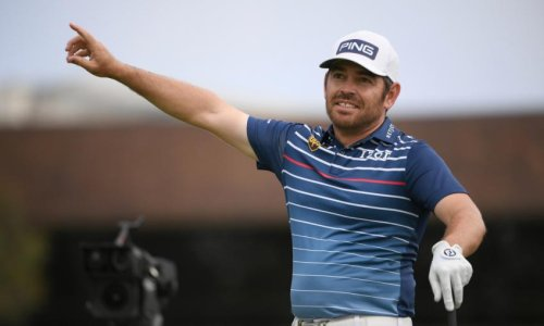 Louis Oosthuizen still the leader at the Open