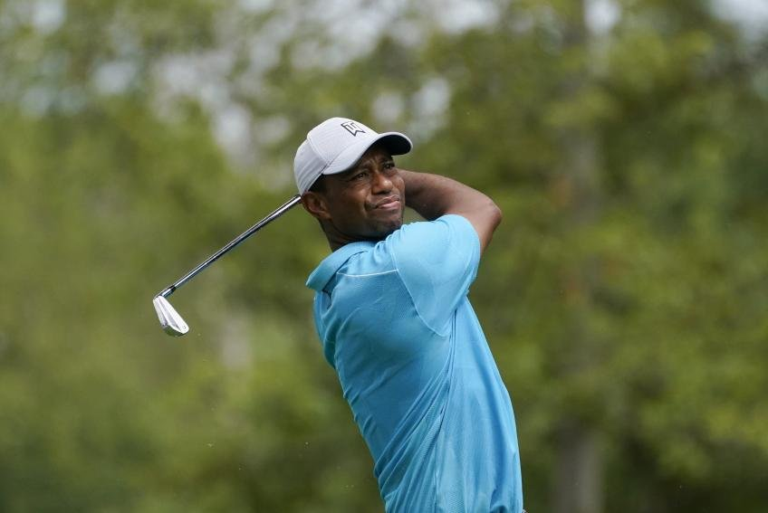 Tiger Woods is stewing silently