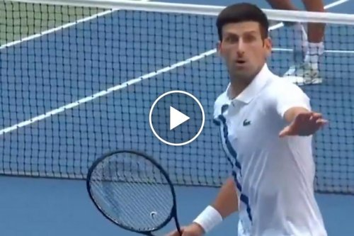 ATP US Open: the video of Novak Djokovic getting defaulted