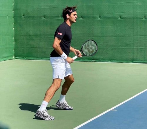 Roger Federer's NEW AMAZING SHOES