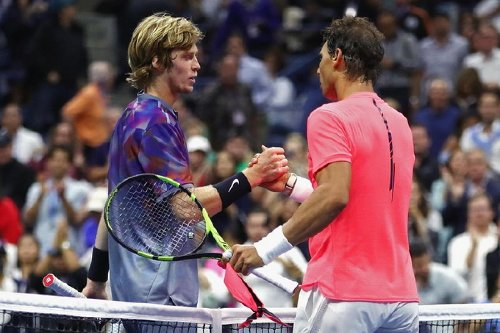 Andrey Rublev: 'Rafael Nadal is one of the best players ever, the pressure will be..'