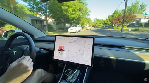 Watch how Tesla Autopilot handles 'no driver in seat' (response to Texas FSD accident)