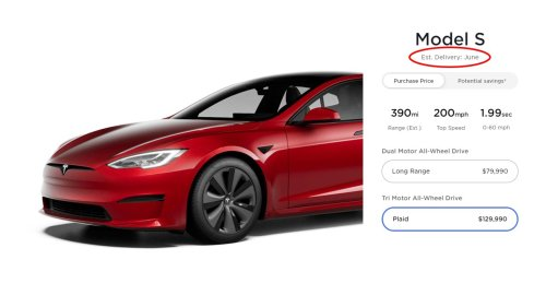 Tesla suddenly increases the price of the Model S Plaid by $10k ahead of the delivery event