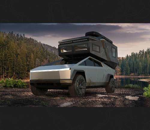 Want to live in your Tesla Cybertruck? Loki's Basecamp makes it possible