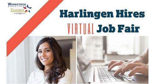 Harlingen Hires Virtual Job Fair Opens Registration to Job Seekers