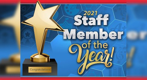Building Staff Members of the Year Announced