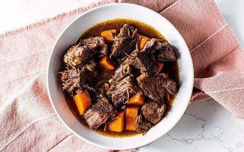 Recipe: Instant Pot Texas Pot Roast With Sweet Potatoes