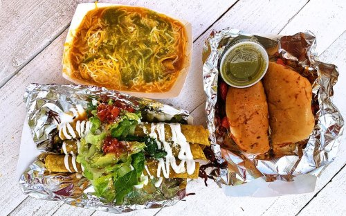 This Austin Trailer Has Perfected El Paso–Style Rolled Tacos