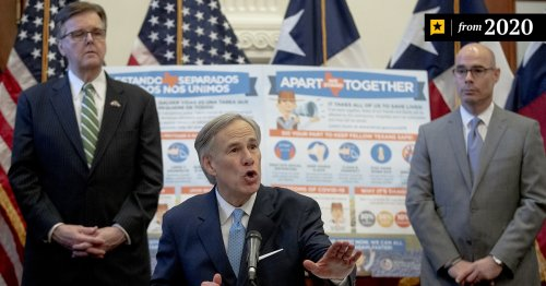Gov. Greg Abbott says reopening the Texas economy will be a slow process