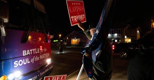 "Wendy Davis, others sue Trump supporters over ""Trump Train"" harassing Biden bus in Texas"