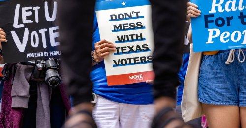 Texas Sens. John Cornyn and Ted Cruz join fellow Republicans to block Democrats' federal elections overhaul