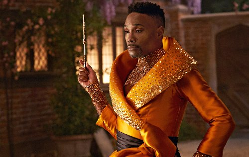 """First Look: Billy Porter Stars In 'Cinderella' As Re-Imagined Fairy Godmother """"Fab G"""""""