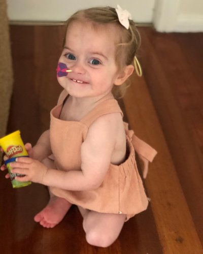 Brave Ellie spent 420 days in hospital for a new heart