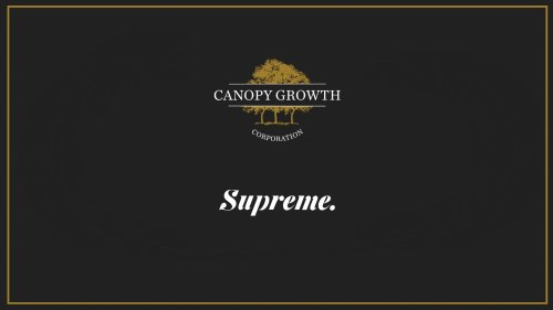 Canopy Growth to Buy Supreme Cannabis in $346 Million Deal