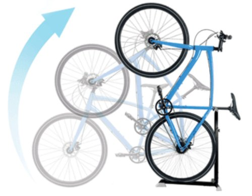 Reclaim floor space with the Bike Nook bicycle storage solution