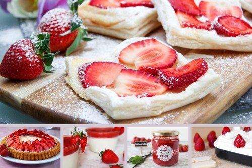 5 leckere Erdbeer-Rezepte – fruchtig, frisch und lecker - The inspiring life