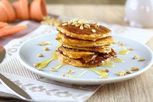 Buttermilch-Karotten-Pancakes als süßes Oster-Frühstück - The inspiring life