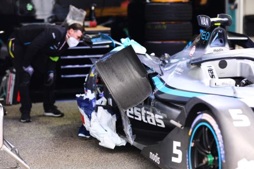 From pole to a wrecked car - Vandoorne's miserable Rome race - The Race