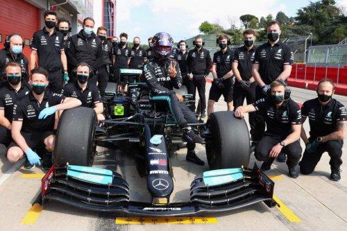 Hamilton's 18-inch F1 wheel verdict after rare voluntary test - The Race