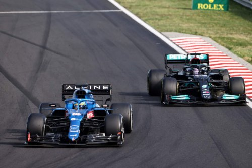 Hamilton: Alonso 'gave me hell' during Hungarian GP battle - The Race