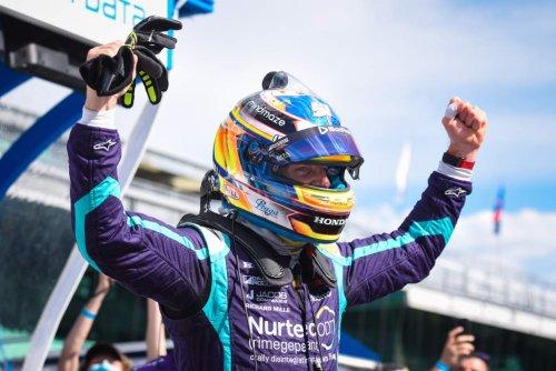Grosjean: First IndyCar pole 'like being alive again' - The Race