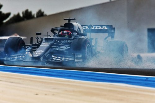 Tsunoda forced to start French GP from pitlane after shunt - The Race