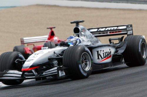 Bring Back V10s: Schumacher deprives Raikkonen in France - The Race