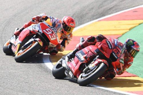 Bagnaia defeats Marquez in MotoGP epic, Quartararo struggles - The Race