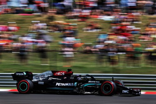 What happened in third Hungarian GP F1 practice - The Race
