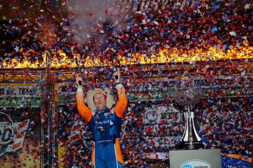 Dixon wins at Texas, rookie McLaughlin stars in second - The Race